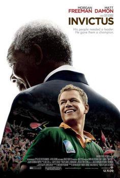 Invictus. Película sobre el rugby y cómo Mandela supo desde la comprensión y el perdón superar los odios para unir dos comunidades en un solo país.  In memoriam Nelson Mandela