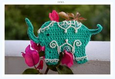 Crochet Indian Wedding Elephant