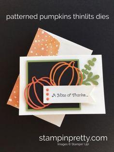 Patterned Pumpkins Autumn Card