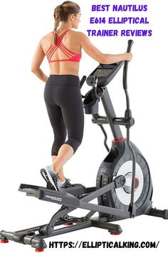 The Nautilus E614 Elliptical trainer Machine is a brand whose innovative practice equipment and quality are supported by heavy-weight capacity.