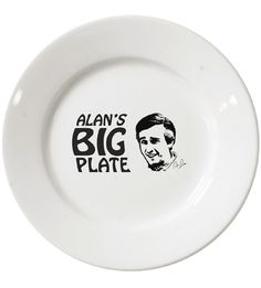 Alan's Big Plate   Alan Partridge   Official Products TV Merchandise   Official Products