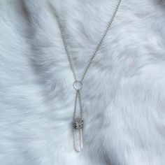 Iska is now available in the store too. Such a beautifully shaped point if raw unprocessed quartz. 12 You can buy this right now from the link in the bio above #necklace #jewellery #rawcrystal #crystals #gems #quartz #gothic #goth #girl #alternative #fashion #womensfashion #wirewrapped #handmade #softgrunge #grunge #style #reiki #crystalhealing #spiritual #natural #stones #pagan #silver #cute #jewelleryoftheday #picoftheday #instagood #instadaily #new