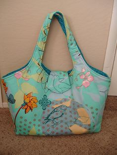 Amy Butler's Modern Diaper Bag pattern