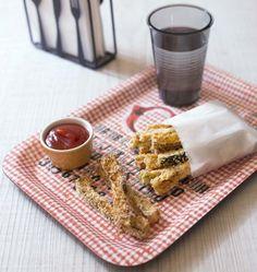 Frites de courgettes au parmesan - Ôdélices : Recettes de cuisine faciles et originales !