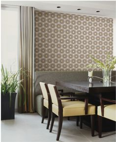 Add dimension with this wallpaper design from the HGTV HOME™ by Sherwin-Williams collection.
