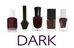 Love dark nail polish