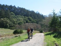 The popular Bear Valley Trail in Point Reyes National Seashore is one of the best places to enjoy a good bike-and-hike trail, with a peaceful ride and ramble that leads to beautiful coastal vistas. Get a jumpstart on hikers by biking the first 3 mellow miles along the creekside fire road, through towering Douglas firs. Lock your bike at the rack and continue on a foot trail that parallels the…