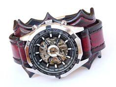 Leather watch straps leather watch strap watch by loversbracelets