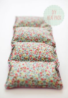 How to make Heating pads. These would be great for Christmas gifts.