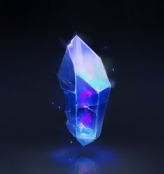 crystal, Zach Sharts on ArtStation at https://www.artstation.com/artwork/g9BNL