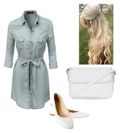 """""""Untitled #353"""" by kswain11 ❤ liked on Polyvore featuring LE3NO, Chloé and Topshop"""