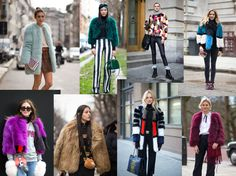 COLOURFUL FUR - THE BRIGHT WINTER SEASON