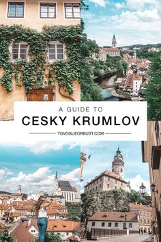 Cesky Krumlov, Czech Republic travel guide Want to learn more about the most beautiful town in the Czech Republic you've never heard of? I'm sharing my Cesky Krumlov travel guide today on TVOB! Travel Tours, Europe Travel Tips, Travel Guides, Travel Destinations, Cool Places To Visit, Places To Travel, Places To Go, European Destination, European Travel