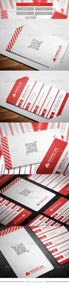 Corporate Business Card 6 Branding Design