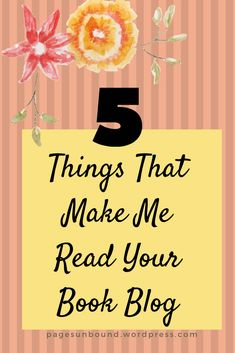 These are the things that will attract me to your blog and make me follow. Book Recommendations, Book Lists, Banners, Blogging, Things I Want, Reading, Tips, Books, How To Make