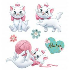 marie, disney, gato, os aristocats - DISNEY & more - Images Disney, Art Disney, Disney Kunst, Disney Magic, Disney Pixar, Marie Aristocats, Disney And More, Disney Love, Gatos Disney