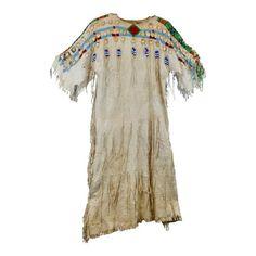 Yakima Dress with Highly Polished Elk Ivories