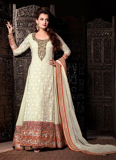 Low Price Georgette Classic Anarkali Suit Collection - Buy Now @ http://www.suratwholesaleshop.com/19004M-White-Wedding-Wear-Velvet-Anarkali-Suit?view=catalog  #Suratwholesaleanarkalisuit #eidbestcollectionanarkalisuit #eiddress #eidtraditionalanarkalisuit #eidcloths #Wholesaleanarkalisuit