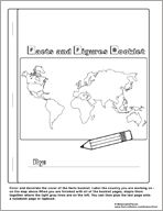 country and cultures lapbook pack --- great free printables!!