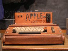 First apple. 1976.
