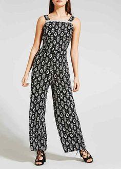 5097d15e2bf Papaya Printed Jumpsuit Black Size UK 16 rrp 16 DH088 NN 26  fashion   clothing