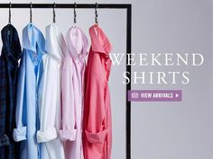 Visit us online or in store to shop our collection of premium shirts and accessories.