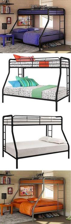 kids furniture metal bunk bed twin over full bunk beds kids teens dorm bedroom furniture