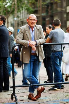 On the Street….Jeans in Milan « The Sartorialist