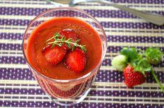 zadanie - gotowanie: Gazpacho truskawkowe.
