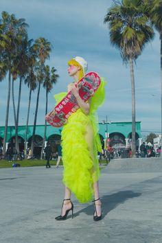 California dreaming on Behance Song Artists, Editorial Fashion, Pop Culture, Harajuku, Mermaid, California, Costumes, Lady, Inspiration