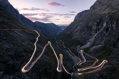 Watch in full resolution for best quality Famous Trollstigen, Norway.
