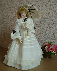 lovely antique fashion doll