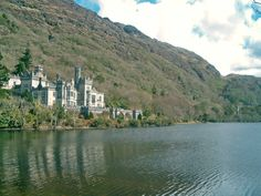 I'm 5,000% sure you can't pick another setting for a castle like this.  Kylemore Abbey, Connemara, Ireland.