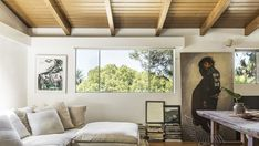 In Echo Park, an interior designer and fashion designer team up to update a gorgeous midcentury home.