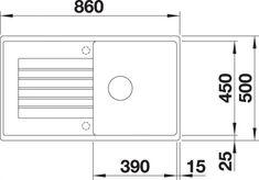 Kameninové drezy   BLANCO SET 11 (ZIA 5 S + MILA chróm)   Drezy a kuchynské batérie - DOPRAVA a DARČEK ZADARMO Bar Chart, Diagram, Bar Graphs