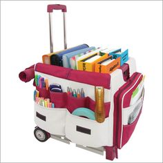 Teachers Travel Carts Bag Organizer For Universal Rolling Cart 35 99 First