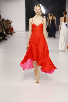 Christian Dior Cruise Collection 2014. #resort #travel #dress