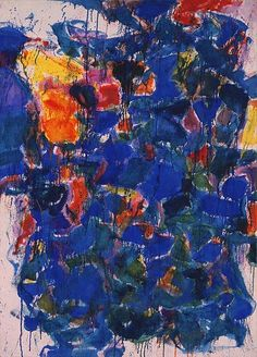 Sam Francis / Blue / 1958 / oil on canvas / Phillips Collection Tachisme, Jackson Pollock, Tampa Museum Of Art, Sam Francis, Art Textile, Artist Art, American Artists, Abstract Art, Abstract Paintings