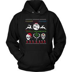 Merry Christmas - Ho, Ho, Ho Unisex Hoodie T-Shirt (12 colors)