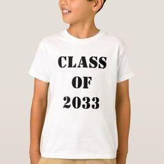 Class of 2033 Customizable T-Shirt Graduation Shirts, Shirt Style, Colorful Shirts, Fitness Models, Singing, Shirt Designs, Unisex, Shop Class, Casual