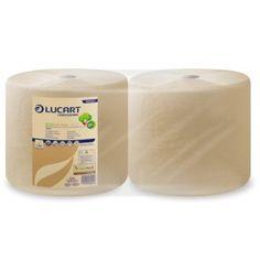 ipari papírtörlő eco natural lucart 3 rétegű 200m 800 lap