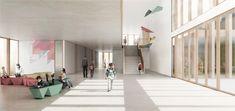 De Planta et Portier Architectes + AGraph - Meinier School (2017)