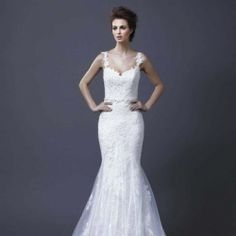 17 Beautiful Wedding Gowns from Enzoani, 2013 WIthout the straps!