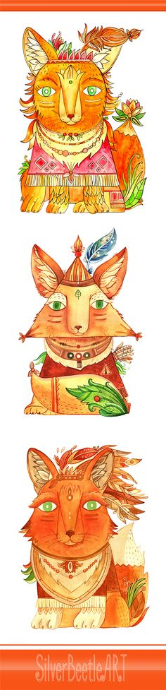 Fox, animal, animaks, nursery. print, prints, fantasy. art, decor, artwork, draw, drawing, painting, paint, poster, posters, baby, gift, Christmas, wall, narnia, indian, wood, woodland. forest