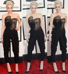 "Best Dressed: Gwen Stefani in Sexy Jumpsuit and Incredible Christian Louboutin ""Top Vague"" Pumps"