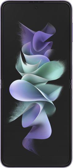 Samsung - Galaxy Z Flip3 5G 128GB (Unlocked) - Lavender