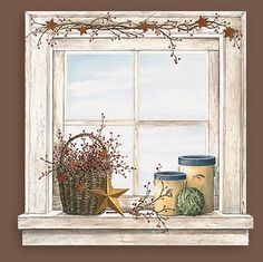 Country Kitchen Art Prints | Country Kitchen Wall Accent Mural