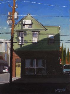 """shadow and light by Dan Graziano Oil ~ 8"""" x 6"""""""