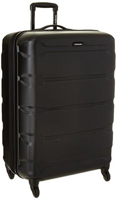 Samsonite Omni PC Hardside Expandable Luggage with Spinner Wheels, Black Best Carry On Luggage, Hardside Luggage, Luggage Brands, Luggage Sets, Cabin Luggage, Luggage Straps, Briefcase, Suitcase