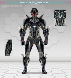 Procyon Armor by RobertDamnation on deviantART